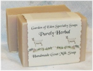 Purely Herbal Goats Milk Soap