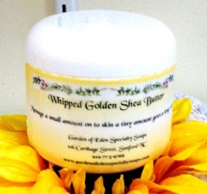 Whipped Golden Shea Butter