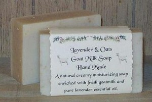 Lavender and Oatmeal Goat Milk