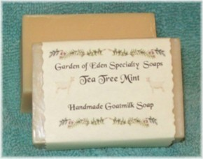 Tea Tree Mint Goat Milk