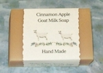 Cinnamon and Apple Goat Milk Soap