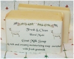 Fresh and Clean Goats Milk Soap
