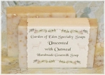 Goats Milk Soap Unscented with Oatmeal