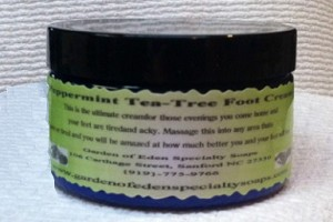 Peppermint Tea Tree Foot Cream