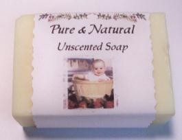 Pure & Natural Soap {unscented}